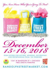 Randolph Street's Holiday Market December 2018