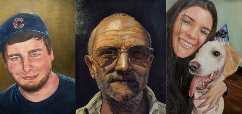 Artist Portraits by Nicholas Nadja