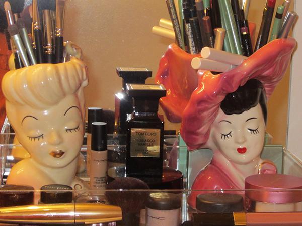 Lady Head Vases Randolph Street Market
