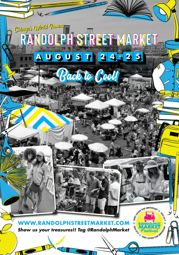 Randolph Street Market August 24+25, 2019