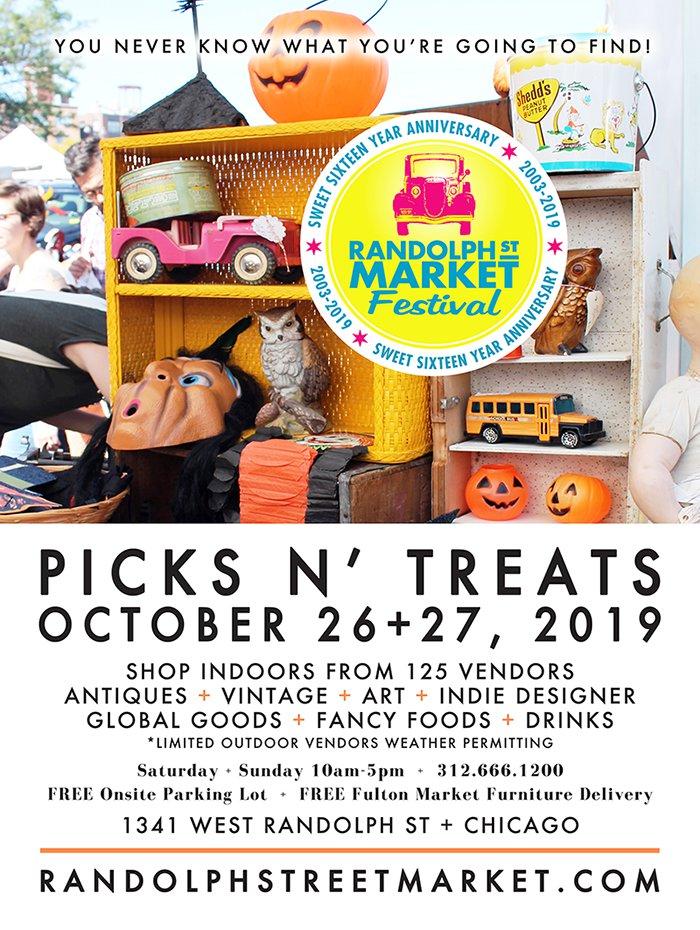 Randolph Street Market October 2019