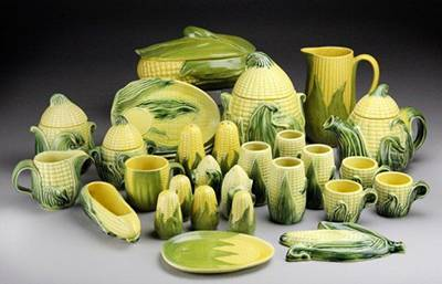 Randolph Street Market collectible corn pieces