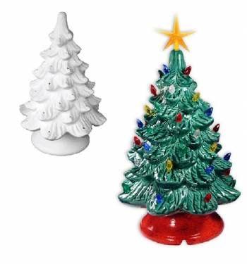 Ceramic Christmas Trees Randolph Street Market