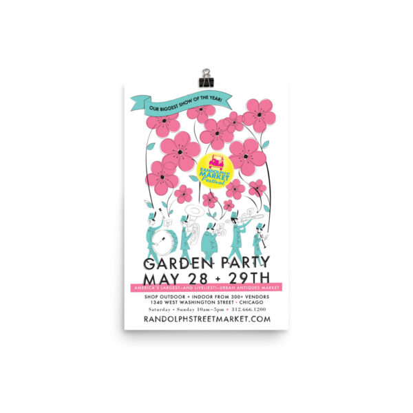 Randolph Street Market May 2016 Garden Party 12 x 18 Poster (Unframed)